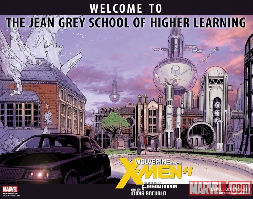 The Jean Grey School of Higher Learning